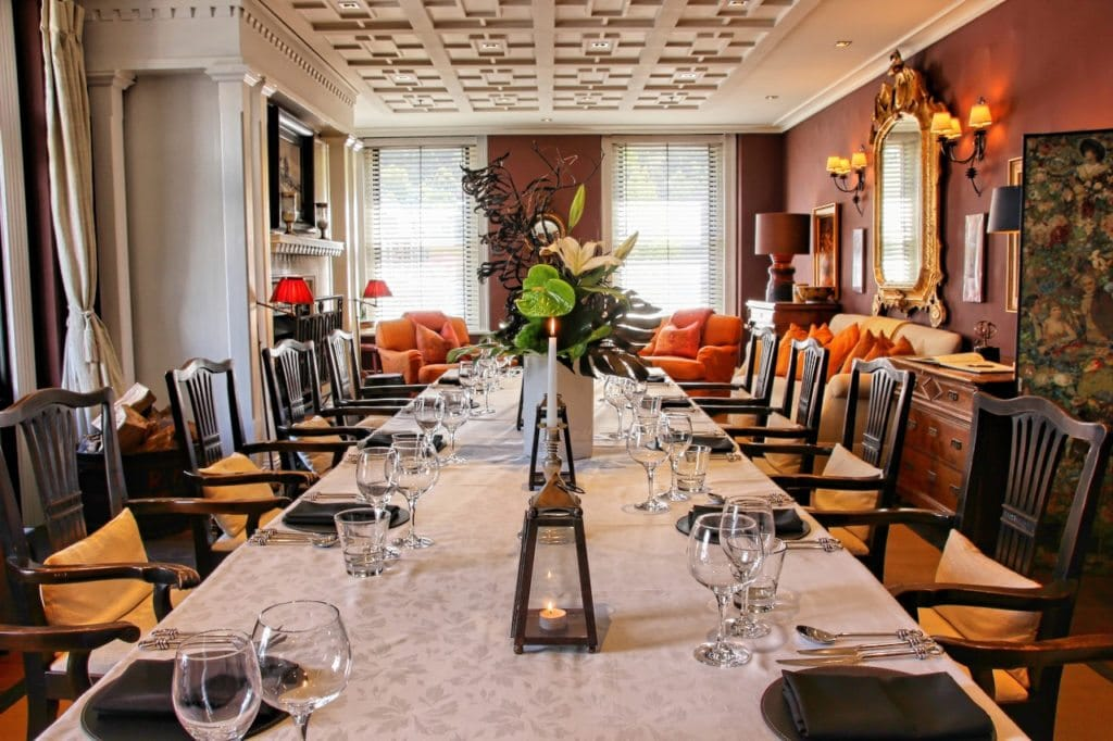 Private Dining In The Parlour At Eichardts Hotel